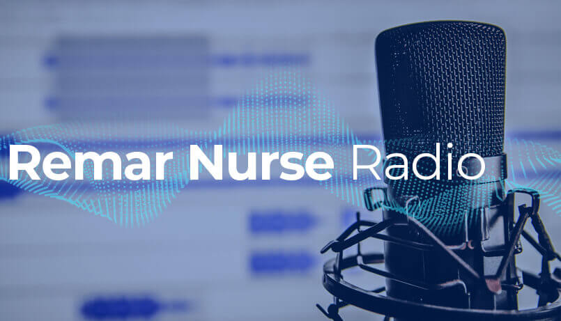 remar nurse radio podcast banner