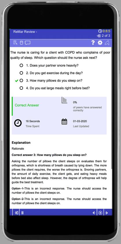 Qbank Correct Answer